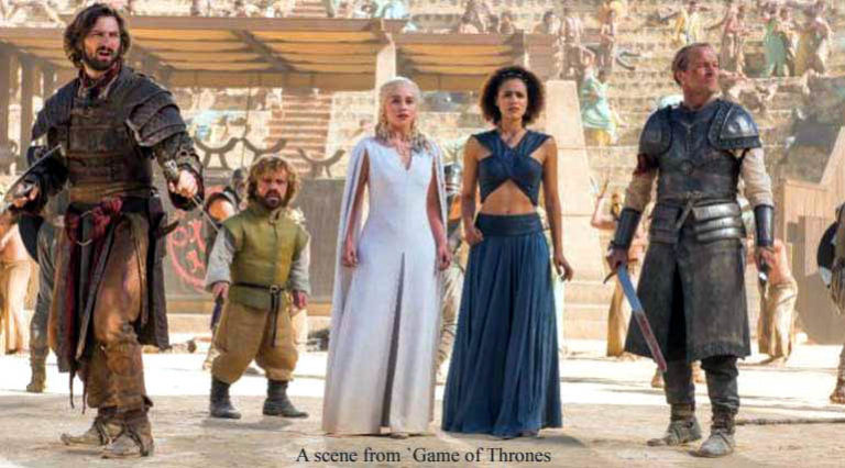 Game of Thrones back at Emmys